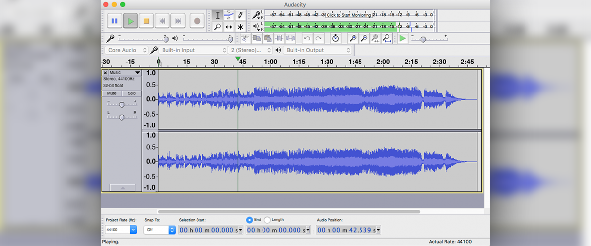 Audacity - Free Audio Editor | SoundEdge net